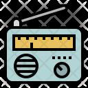 Radio Communications Transistor Icon