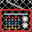 Radio Audio Retro Icon