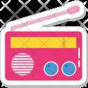 Radio Set Old Icon
