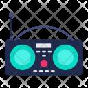 Radio Boombox Device Icon