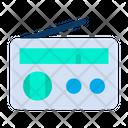 Radio News Transistor Icon