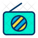 Fm Frequency Device Icon
