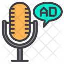 Microphone Radio Ad Ads Icon