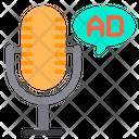 Radio ads Icon