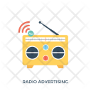 Radio Advertising Icon