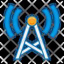 Radio Station Radio Tower Communication Tower Icon