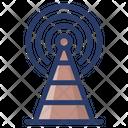 Radio Tower Signals Icon