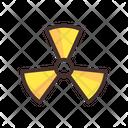 Radioactive Radioactive Bomb Atom Bomb Icon