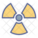 Nuclear Warning Danger Icon