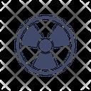 Radioactive Chemistry Science Icon