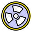 Radiation Fan Radioactive Fan Ionizing Radiations Icon