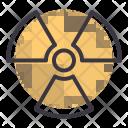 Radioactive Nuclear Warning Icon