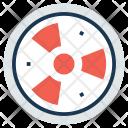 Radioactive Biohazard Symbol Icon