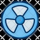 Radioactive Nuclear Energy Icon