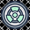 Radioactive Acid Rain Nuclear Icon