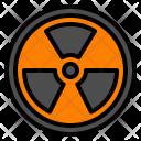 Danger Biohazard Atom Icon