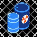 Radioactive Waste Biohazard Icon