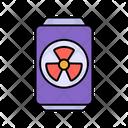 Radioactive Drink Thyroid Gland Impurities Icon