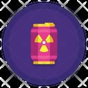 Radioactive Energy Drink Icon