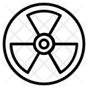 Atomic Radiation Radioavtive Icon