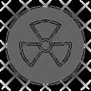 Radiation Radioactive Toxic Icon