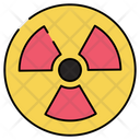 Radioactive Sign Radiation Nuclear Sign Icon