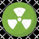 Radioactive Symbol Icon
