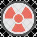Toxic Radioactive Symbol Icon