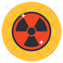 Radioactive Symbol Nuclear Symbol Icon