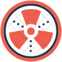 Nuclear Power Atomics Icon