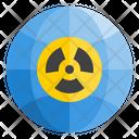 Radioactivity Radiation Nuclear Icon