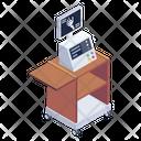 X Ray Machine Radiology Machine Radioscopy Icon