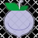 Radish Turnip Vegetable Icon