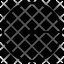 Radius Geometry Round Icon