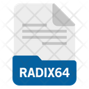 Radix64 file Icon