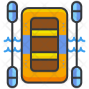 Rafting Life Raft Icon