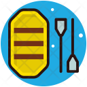 Rafting Boating Water Icon