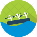 Rafting Sport Water Icon