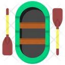 Boat Rowing Boat Rafting Boat Icon