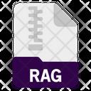 Rag File Icon