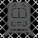 Rail Road Transport Icon