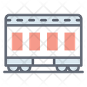 Rapid Transit Rail Transport Train Icon