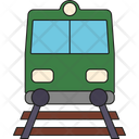 Railroad Railway Tourism Icon