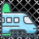 Railroad Trip Icon