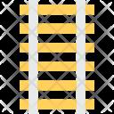 Railtrack Railway Track Icon