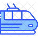 Railway Train Electric Icon