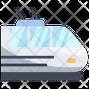 Railway Train Electric Icon
