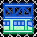 Public Transport Suspention Icon