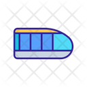 Public Transport Contour Icon