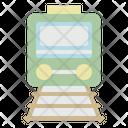 Railway Train Transportation Icon